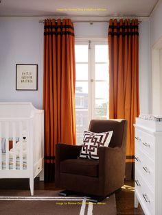 Orange Curtains Brown Glider Drapery Panels Curtain Trim Call Fabric