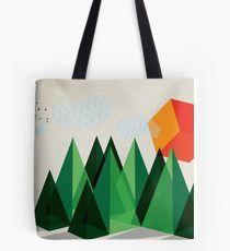 Geo-graphic Tote Bag