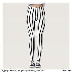 Leggings Vertical Stripes Black And White Leggings, Striped Leggings, Vertical Stripes, Summer Wear, Leggings Fashion, Look Cool, Wearing Black, Dressmaking, Things That Bounce