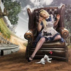 Alice and her kitties