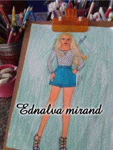 BLOG DA EDNALVA: Meus desenhos de moda