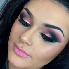 @edabaysan_  make up  #mua #mac #muaglasgow #glasgow #pinklips #pink #love #babe #pout #macmakeup #maclipstick #illamasqua #urbandecay #anastasiabeverlyhills #wingedeye #rosegold #jeffreestarcosmetics #makeupporn #makeupgeekplumeria #morphe #instagood by paintboxmakeupstudioscotland