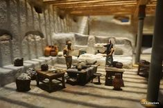 Mummification process Mummification Process, Life In Ancient Egypt, Egypt Mummy, Chicago Museums, Field Museum, Miniature Rooms, Dollhouse Miniatures, Rome, Scale