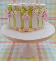 Garden Party 21st Cake - Cake by Roo's Little Cake Parlour