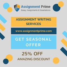 Are you afraid of getting low grades in assignment? Need online help from academic experts? Assignment Prime is here to help all the Australian students with the top quality academic writing services at low price. We have a team of dedicated professionals who provide the best assignment help to the university scholars. Contact us now to get 25% discount on your order.