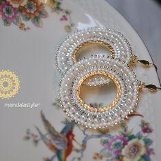 Seed Bead Earrings, Beaded Earrings, Earrings Handmade, Beaded Jewelry, Handmade Jewelry, Beaded Bracelets, Trendy Jewelry, Jewelry Sets, Jewelry Accessories