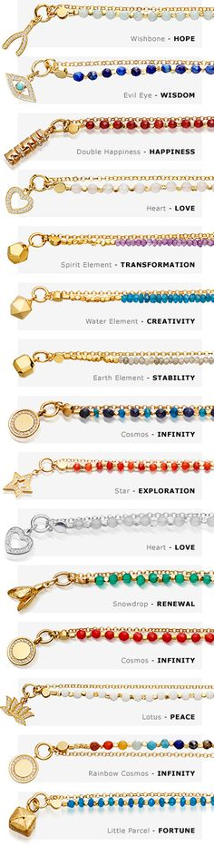 Biography Friendship Bracelet Meanings