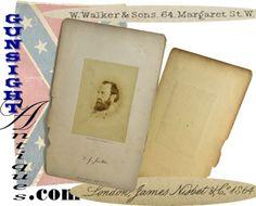 Wartime Stonewall Jackson Photograph