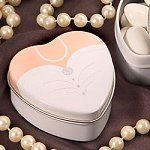 Wedding Gown Candy Tin Favours