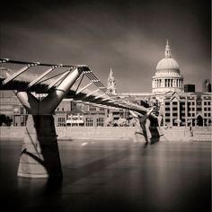 A 300 sec long exposure of St Pauls Cathedral using a R72 filter with a B&W conversion.<br /> <br /> David Henderson Photography Fine Art Print