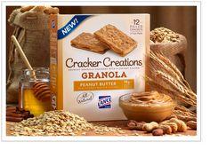 Granola Peanut Butter Lance Cracker Creations....yum!