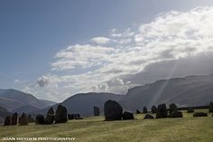 Castlerigg Stone Circle in the Lake District National Park, Cumbria, England