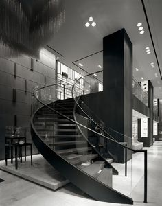 70 Best Commercial Staircase Images In 2020 Staircase | Staircase Design For Commercial Buildings | Cylindrical Glass | Enclosed | Beautiful | Central Staircase | Sleek