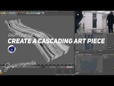 Creating a Cascading Art Piece with Cinema 4D: Cascade (1 of 2) | Greyscalegorilla - YouTube