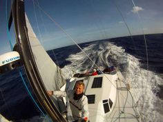 """El primer diseño Class 40 """"Tales II"""" de Botin Partners está dejando claro su potencial frente a los diseños de Verdier y Samar tras más de diez días de regata. Tras más de diez días, Pella lidera c..."""