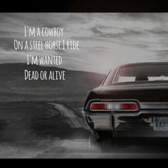"wanted dead or alive -- #LyricArt for ""Wanted Dead Or Alive"" by Bon Jovi"