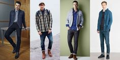 Things to wear for #fall A nice over shirt can go with anything! #menswear #mensfashion #fallfashion