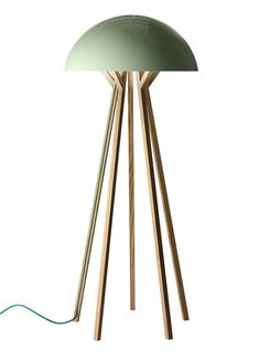 I love this lamp - reminds me a little of a mushroom, or a jelly fish, or maybe an alien space craft. Too bad I can't figure out where it came from...