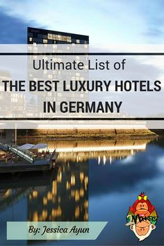 BEST LUXURY HOTELS IN GERMANY. This article compiled the Best Luxury Hotels in Berlin, Best Luxury Hotels in Munich, Best Luxury Hotels in Hamburg, Best Luxury Hotels in Frankfurt, Best Luxury Hotels in Düsseldorf and Best Luxury Hotels in Stuttgart. #BestHotels #LuxuryHotels #Germany #TwoMonkeysTravelGroup