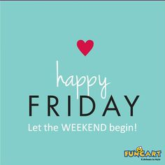 Let The weekend begin.  http://www.funcart.in  #Funcart #Party #PartySupplies #PartyQuotes