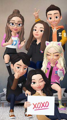 Buddha Wallpaper Iphone, Friend Together, Korean Best Friends, Cute Girl Wallpaper, Emoji, Ulzzang, My Friend, Cute Girls, Girlfriends