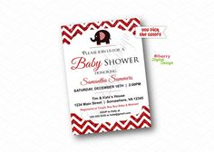 Elephant Baby Shower Invitations  Printed or Printable Baby