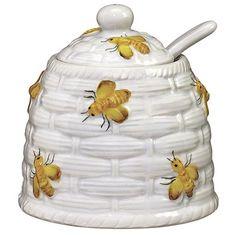 Yellow Bees Honey Pot ~ I have the tea pot too.