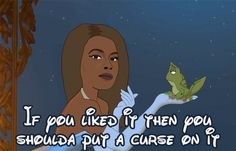 Tiana from The Princess and the Frog | If All Disney Princesses Were Replaced With Beyoncé