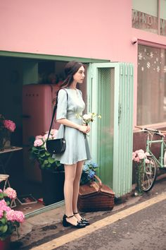 #milkcocoa(MT) daily 2017  feminine& classy look