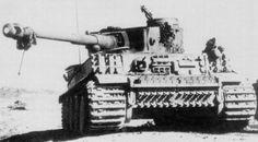 Desert based Tiger I, Panzerkampfwagen VI Ausf. E (Sd.Kfz. 181)