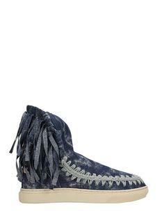 MOU   Mou Mou Eskimo Fringe Sneakers #Shoes #Boots #MOU