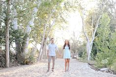 vi  &  laith | engagement session in orange, california