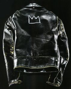 Schott leather jacket customized by Jean-Michel Basquiat in the 1980s.