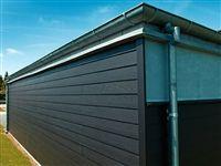 Ny facade - STARK har alt i fibercement, fx Hardiplank og Cembrit 8*180*3600 = 140,-