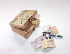 Dollhouse Miniature Bird box scale 1/12 by Teruka on Etsy