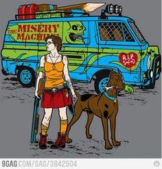 Post Zombie apocalypse Scooby Doo