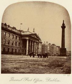 'General Post Office, Dublin' c.1880 after an original of c.1860