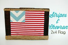 Southern Lovely: 2x4 Flag