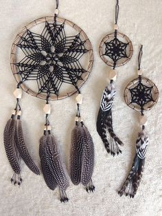 Black dream catcher wall hanging Christmas present dreamcatcher gift Doily dreamcatcher Gothic home decor Boho dreamcatcher Feather wall art Dream Catcher Patterns, Dream Catcher Decor, Black Dream Catcher, Large Dream Catcher, Dream Catcher Boho, Dream Catchers, Dreamcatcher Wallpaper, Crochet Dreamcatcher, Indian Arts And Crafts