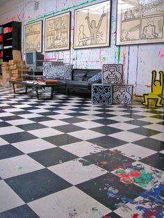 Atelier de Keith Haring