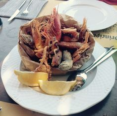 Fritto Misto in Pantelleria