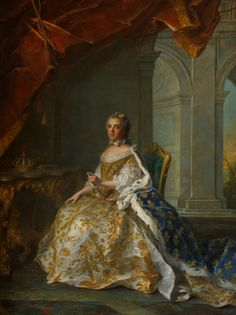 Louis XV of France and his wifeMarie Leszczyńska had a successful marrriage and Marie gave birth to ten children, of which eight were daughters. For the French the boys were more important, as women could not succeed to the throne. Her eldest son, Louis Ferdinand, died before he could become King, but he had three ... [Read more]