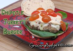 Chipotle Turkey Burgers offer A little bit of heat coupled with cilantro, scallions and loads of flavorful seasonings, these Juicy turkey burgers will hit the spot with even the pickiest of eaters! Budget Meal Planning, Budget Meals, Food Budget, Budget Recipes, Family Recipes, Dirt Cheap Meals, Money Saving Meals, Money Savers, Burgers And More