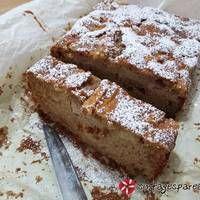 Κέικ ολικής άλεσης με μήλα