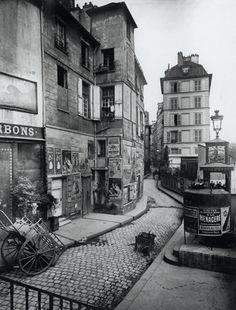 Scenes of Old Paris, Vintage Paris Vintage Paris, Eugene Atget, Old Street, Paris Street, Street View, Old Pictures, Old Photos, Famous Photos, Vintage Photographs