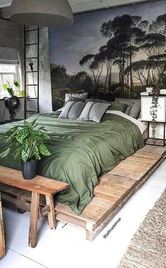 38 free small bedroom design ideas you need to make look bigger new 2019 4 38 free small bedroom design ideas you need to make look bigger new 2019 4 Bedroom Sets, Home Bedroom, Bedroom Decor, Bedroom Furniture, Master Bedroom, Bedroom Green, Furniture Sets, King Furniture, Bedroom Corner