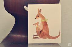 K is for Kangaroo by oanabefort, via Flickr