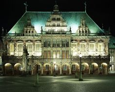 City Hall - Bremen, Germany -- Im going to be studying in this town!!