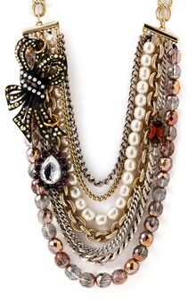 Perle #Beaded #Necklace #Design- from Rosy of Italy on Pinterest