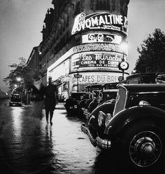 Le Paris insomniaque de Roger Schall à la Galerie ARGENTIC